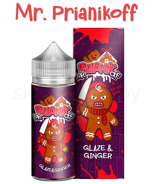 Жидкость для вейпа Mr. Prianikoff glaze and Ginger