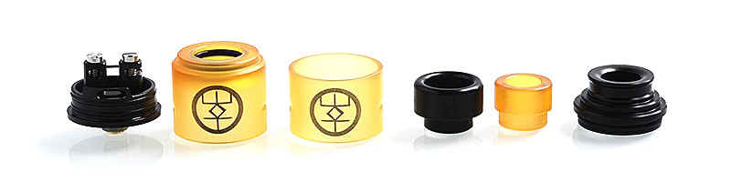 authentic-advken-breath-rda-rebuildable-dripping-atomizer-w-bf-pin-yellow-pei-stainless-steel-24mm-diameter.jpg