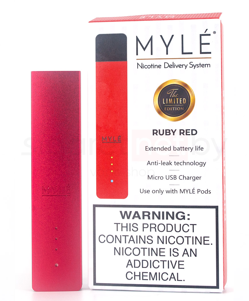 Вейп MYLE POD (Ruby Red)