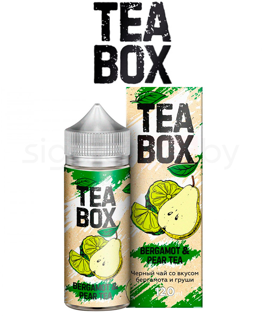 Жидкость для вейпа Tea Box - Bergamot and Pear Tea